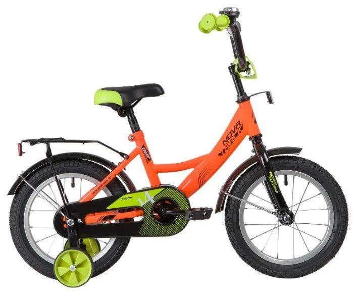 """Велосипед детский двухколесный NOVATRACK VECTOR  14"""" 2020"""