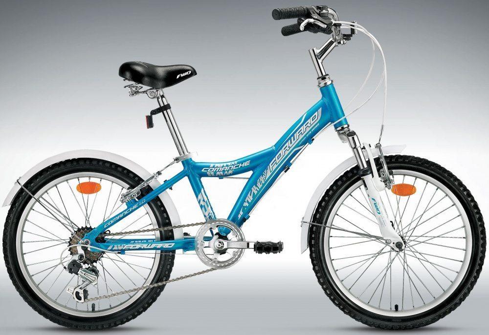 Детский велосипед Forward Comanche 1.0 Lady