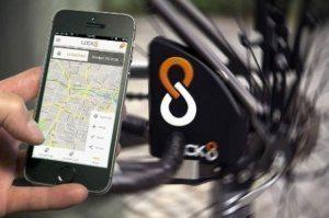 LOCK8 - первый «умный» велосипедный замок.