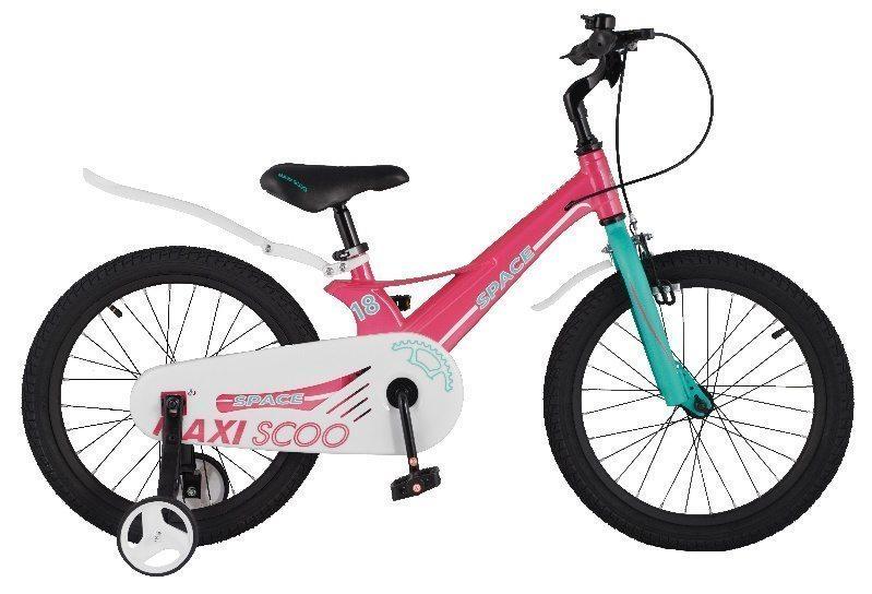 """Детский 2- колесный велосипед Maxiscoo Space Стандарт, 18"""" (2021)"""