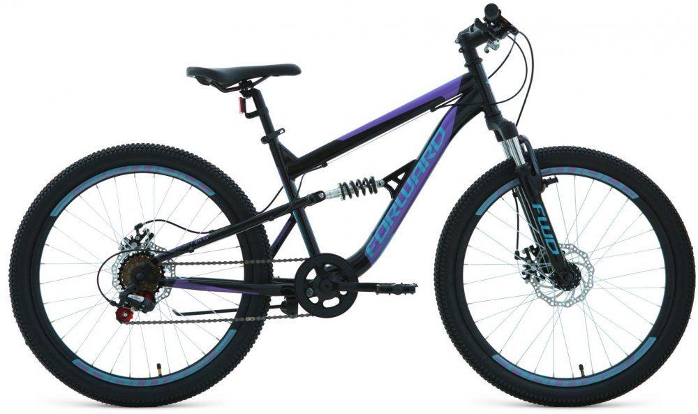 Подростковый велосипед Forward Raptor 24 2.0 disc (2019-2020)