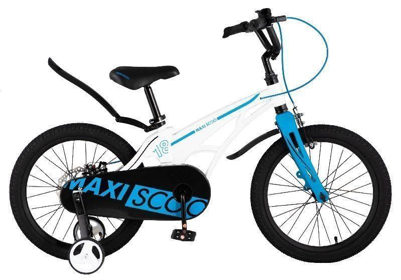 """Детский 2- колесный велосипед Maxiscoo Cosmic Стандарт 18"""" (2021)"""