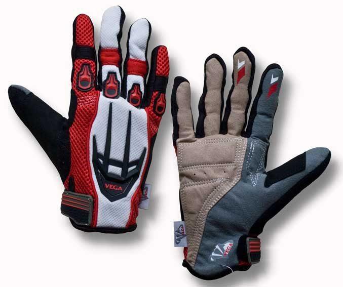 Перчатки VEGA NM-825 красные M (пара)