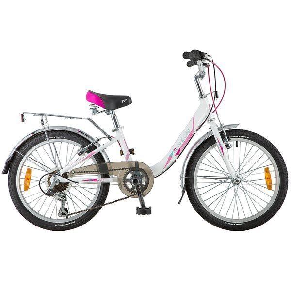 "Велосипед NOVATRACK 20"" ANGEL ал. 6ск. V-brake"