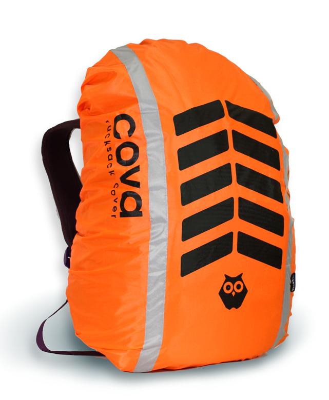 Чехол на рюкзак со световозвращающими лентами, объем 20-40 литров СИГНАЛ