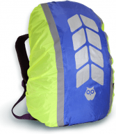 Чехол на рюкзак со световозвращающими лентами и аппликацией, объем 20-40 л